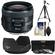 Canon EF 35mm f/2 IS USM Lens with 3 UV/ND8/CPL Filters + Hood + Tripod + Cleaning Kit