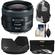 Canon EF 35mm f/2 IS USM Lens with Sling Backpack + 3 UV/ND8/CPL Filters + Hood + Cleaning Kit