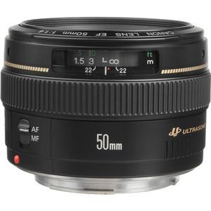 Canon EF 50mm f-1.4 USM Lens