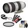 Canon EF 70-200mm f/2.8 L IS II USM Zoom Lens with Hoya HMC UV Filter + Accessory Kit