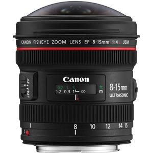 Canon EF 8-15mm f/4.0 L USM Fisheye Zoom Lens