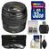 Canon EF 85mm f/1.8 USM Lens with 3 UV/CPL/ND8 Filters + 32GB SD Card + Kit
