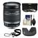 Canon EF-S 18-200mm f/3.5-5.6 IS Zoom Lens with 3 UV/FLD/CPL Filters + Hood + Accessory Kit