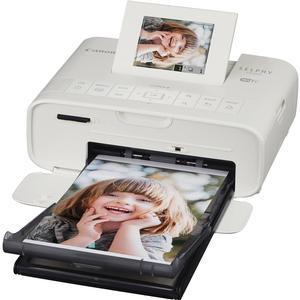 Canon SELPHY CP1200 Wi-Fi Wireless Compact Photo Printer - White -