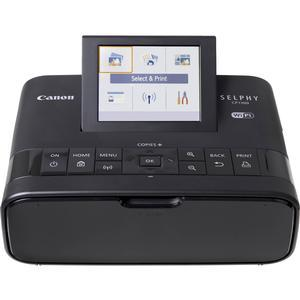 Canon SELPHY CP1300 Wi-Fi Wireless Compact Photo Printer - Black -
