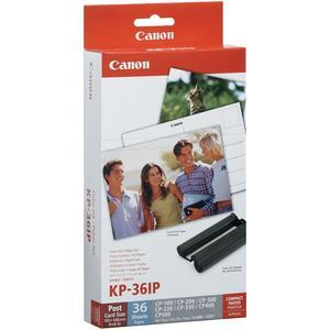 Canon KP-36IP Color Ink - Paper Set - 4x6 in - 36 Sheets - for Selphy CP Printers