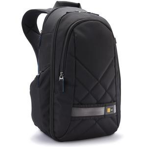 Case Logic CPL108 Small Digital SLR Camera and iPad-Tablet Backpack - Black -