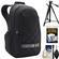 Case Logic CPL108 Small Digital SLR Camera & iPad/Tablet Backpack (Black) with Tripod + Accessory Kit