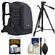 Case Logic DSB-102 Luminosity Digital SLR Camera Backpack Case (Black) with Tripod + Accessory Kit