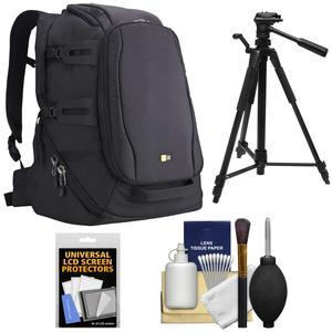 Case Logic DSB-103 Luminosity Digital SLR Camera Backpack Case - Black - with Tripod + Accessory Kit