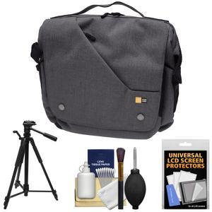 Case Logic Reflexion Digital SLR Camera and Tablet Messenger Bag - Anthracite - with Tripod + Accessory Kit