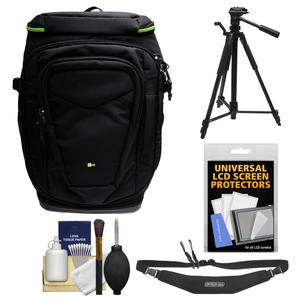 Case Logic Kontrast KDB-101 Pro DSLR Camera Backpack Case with Tripod + Sling Strap + Kit