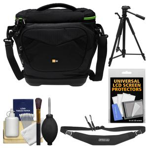 Case Logic Kontrast KDM-102 DSLR Camera Shoulder Bag with Tripod + Sling Strap + Kit