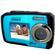 Coleman Duo 2V7WP Dual Screen Shock & Waterproof Digital Camera (Blue)