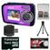 Coleman Duo 2V7WP Dual Screen Shock & Waterproof Digital Camera (Purple) with 16GB Card & Reader + Accessory Kit