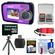 Coleman Duo 2V7WP Dual Screen Shock & Waterproof Digital Camera (Purple) with 16GB Card & Reader + Float Strap + Flex Tripod + Accessory Kit