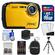 Coleman Xtreme2 C12WP Shock & Waterproof Digital Camera with HD Video (Yellow) with 16GB Card + Case + Batteries & Charger + Flex Tripod + Accessory Kit