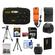 Coleman Xtreme C5WP Shock & Waterproof Digital Camera (Black) with 8GB Card + Battery + Floating Strap + (2) Cases + Tripod + Accessory Kit