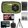 Coleman Xtreme C5WP Shock & Waterproof Digital Camera (Green) with 16GB Card + Case + Accessory Kit