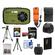 Coleman Xtreme C5WP Shock & Waterproof Digital Camera (Green) with 8GB Card + Battery + Floating Strap + (2) Cases + Tripod + Accessory Kit