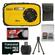 Coleman Xtreme C5WP Shock & Waterproof Digital Camera (Yellow) with 16GB Card + Case + Accessory Kit