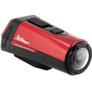 Coleman Aktivsport CX9WP GPS HD Video Action Camera Camcorder (Red)