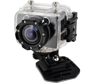 Coleman Bravo Xtreme Sports Cam Waterproof HD Digital Video Camera Camcorder with Mounts