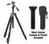 Cullmann Magnesit 525H Aluminum / Magnesium Tripod with 3-Way QR Head