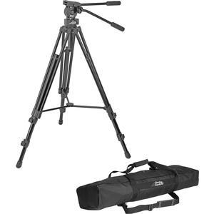 Davis and Sanford 64 inch ProVista 7518XB Pro Video Tripod with FM18 Fluid Head and Case