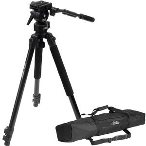 Davis and Sanford 64 inch ProVista Grounder GR Professional Video Tripod with FM18 Head and Case