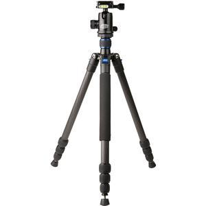 Davis and Sanford 64 inch Traverse Carbon Fiber 4-Section Tripod with Ballhead and Case