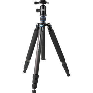 Davis and Sanford 68 inch Traverse Large Carbon Fiber Tripod with Dual Control Ballhead and Case