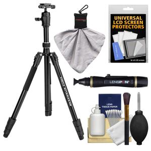 Davis and Sanford 68 inch Vista ATTARAS4M Monopod and Tripod with Ball Head and Case with LensPen and Cleaning Kit
