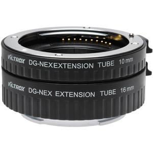 dlc Automatic Macro Extension Tube Set for Sony Alpha E-Mount - NEX