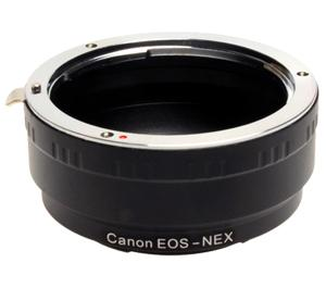 dlc Sony NEX Digital Camera to Canon EOS Lens Mount Adapter