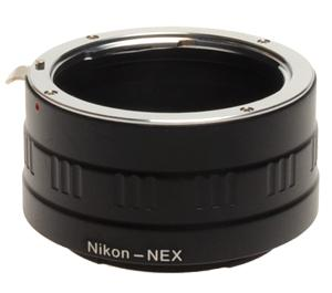dlc Sony NEX Digital Camera to Nikon Lens Mount Adapter