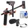 DLC HD-DSLR Camera Video Rig Shoulder Brace Stabilizer with Microphone + Cleaning Kit