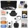 49mm Essentials Bundle with 3 UV/CPL/ND8 Filters + Lens Hood + 4 Pop-Up Flash Diffusers + Card Reader + Kit