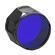 Fenix AD302 LED Flashlight Filter Adapter (Blue)