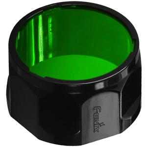 Fenix AOF-S and Flashlight Filter Adapter-Green-Compatible with PD35 PD12 UC40 and UC40UE