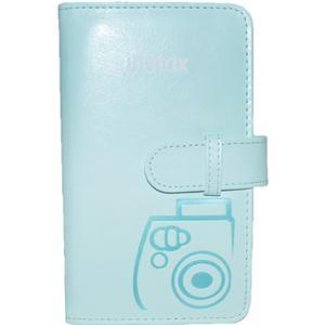 Fujifilm Instax Mini Wallet 108 Photo Album - Ice Blue -