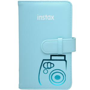 Fujifilm Instax Mini Wallet 108 Photo Album - Blue -