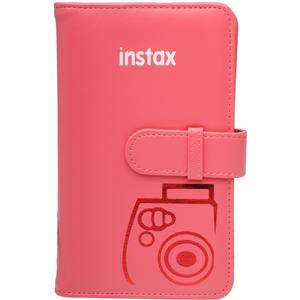 Fujifilm Instax Mini Wallet 108 Photo Album-Raspberry -