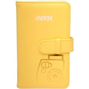 Fujifilm Instax Mini Wallet 108 Photo Album - Yellow -