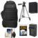 Fujifilm 100D Digital Camera Travel Sling Backpack Case with NP-W126 Battery & Charger + Tripod + Kit