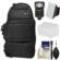 Fujifilm 100D Digital Camera Travel Sling Backpack Case with Flash + Soft Box + Diffuser + Kit