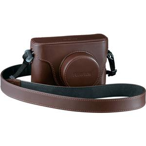 Fujifilm LC-X100S Fitted Brown Leather Camera Case for X100 X100S X100T