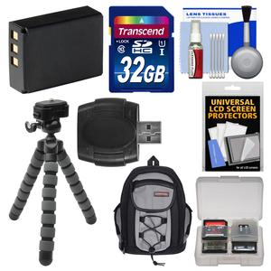 Essentials Bundle for Fujifilm FinePix S1 Weather Resistant Wi-Fi Digital Camera with 32GB Card + Case + NP-85 Battery + Tripod + Accessory Kit