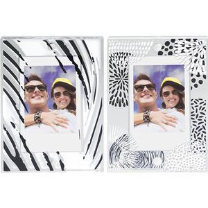 Fujifilm Instax Large Magnetic Frames - 2-Pack - Black - White -