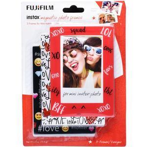Fujifilm Instax Mini Magnetic Frames - 3-Pack - Emoji -